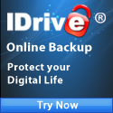 IDrive Online Backup - PC, Mac, iPhone, Blackberry
